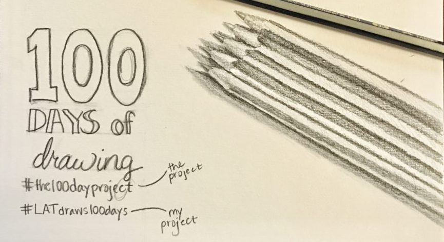 14 days of #the100dayproject