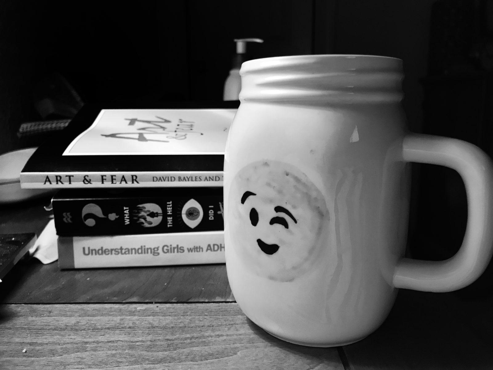 tea on the nightstand