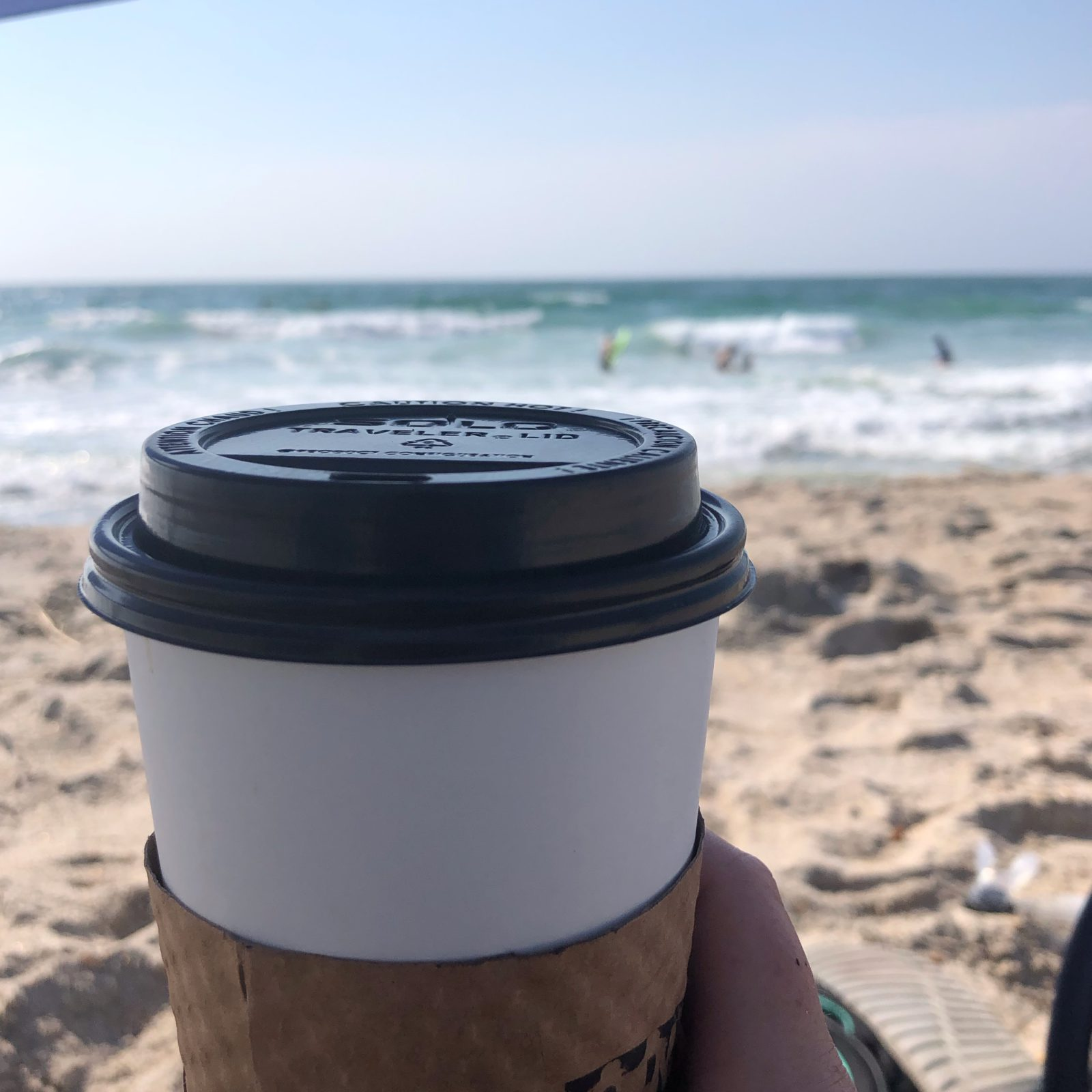 coffee on the beach, should,