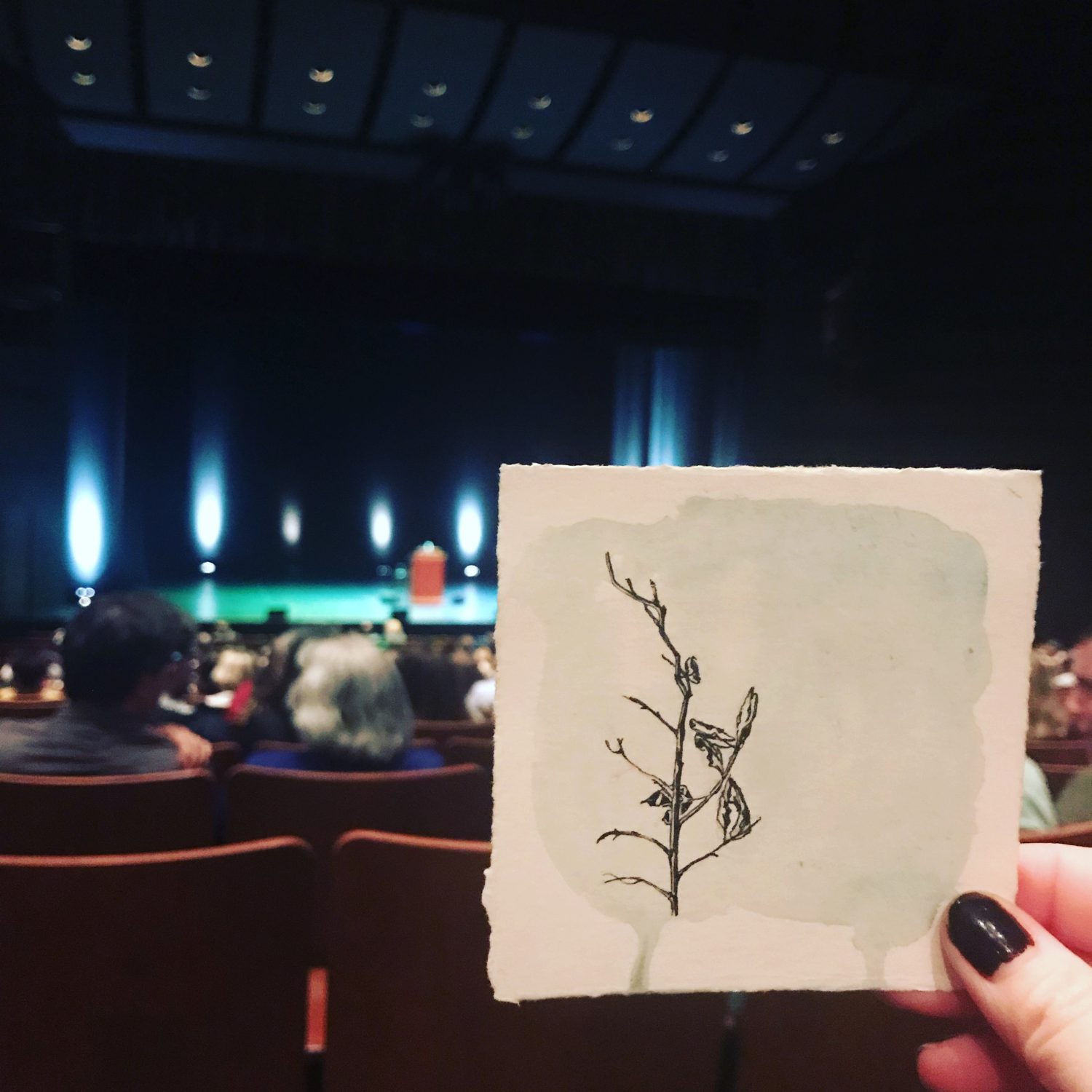 Put it out there and then let it go (alternate title: That time I gave a drawing to David Sedaris)