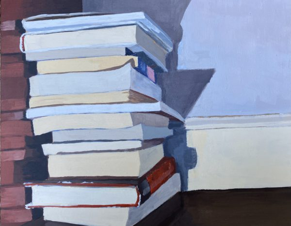 book painting, Leigh Ann Torres, original acrylic paintings