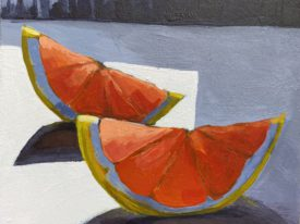 Grapefruit Slices in the Light