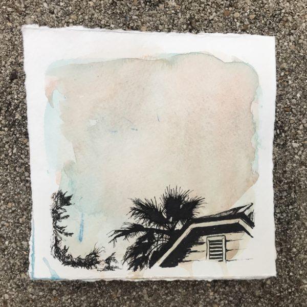My Neighbor's Palm Tree, Leigh Ann Torres